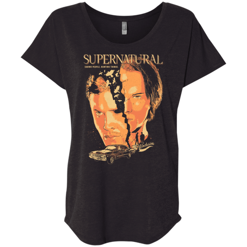 Supernatural Triblend Dolman Sleeve