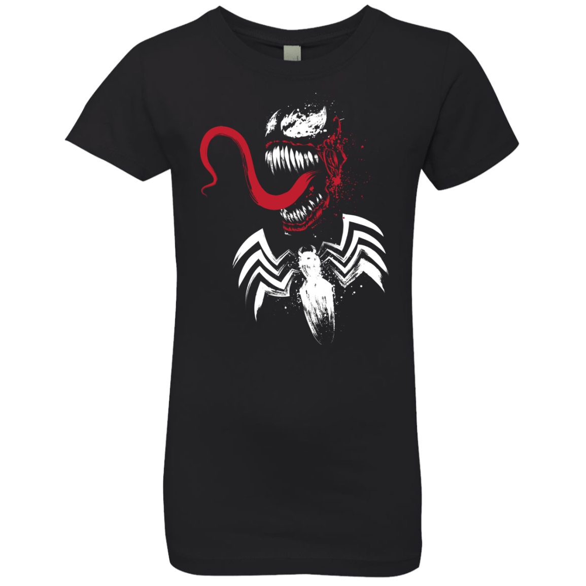 T-Shirts Black / YXS Symbiote Girls Premium T-Shirt