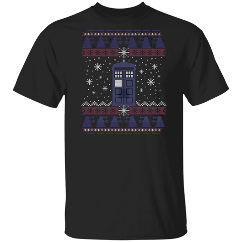 Tardis in the Snow T-Shirt