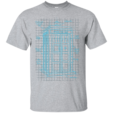 Tardis Plan T-Shirt