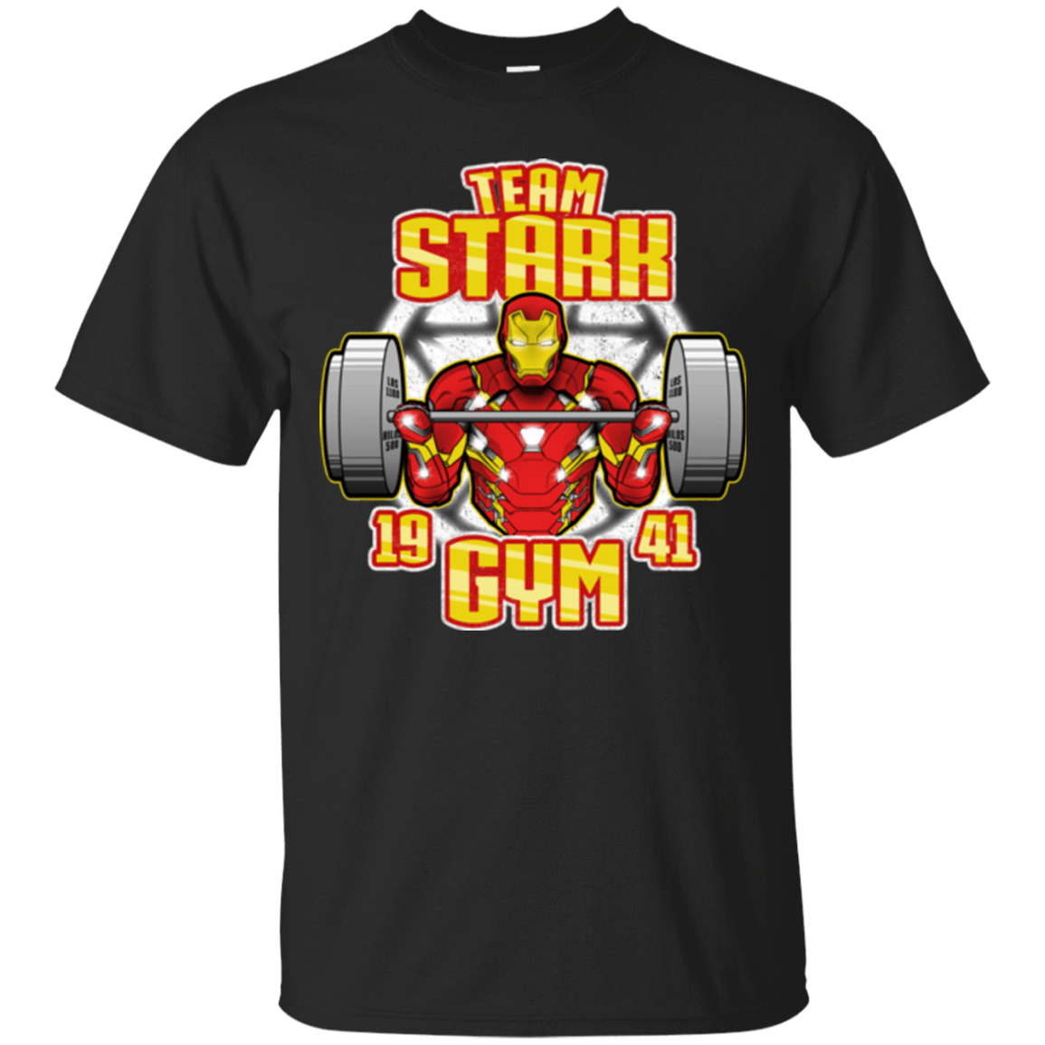 T-Shirts Black / Small Team Stark Gym T-Shirt
