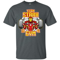T-Shirts Dark Heather / Small Team Stark Gym T-Shirt