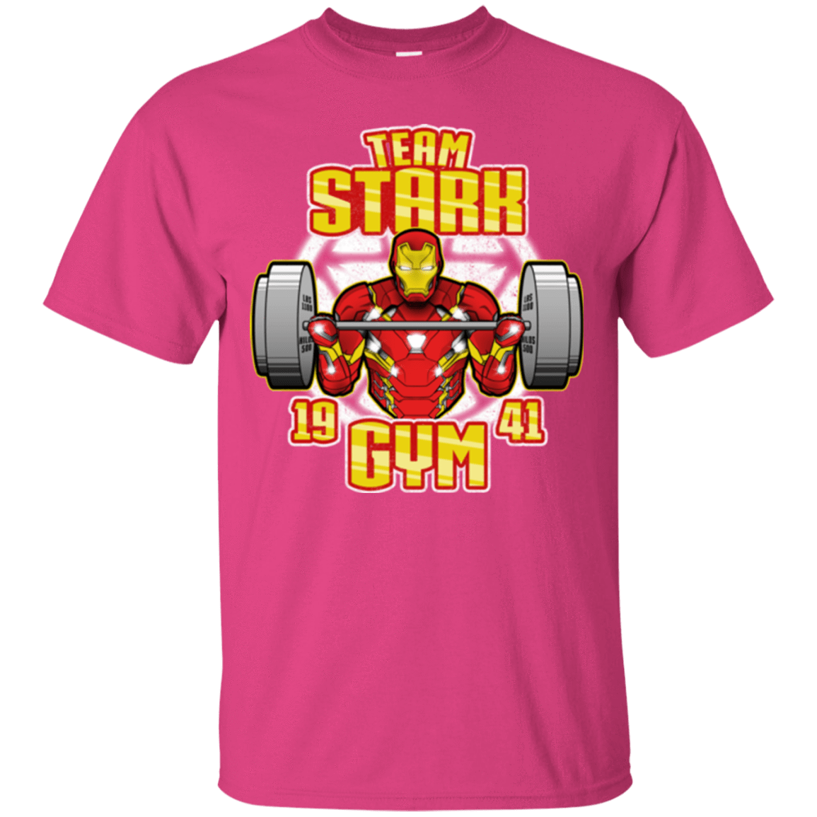 T-Shirts Heliconia / Small Team Stark Gym T-Shirt