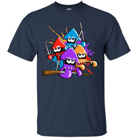 Teenage Mutant Ninja Squids T-Shirt
