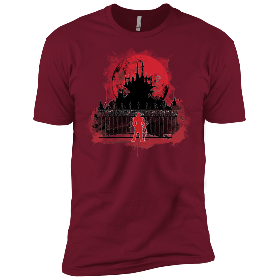 T-Shirts Cardinal / X-Small Terrible Night to Have a Curse Men's Premium T-Shirt