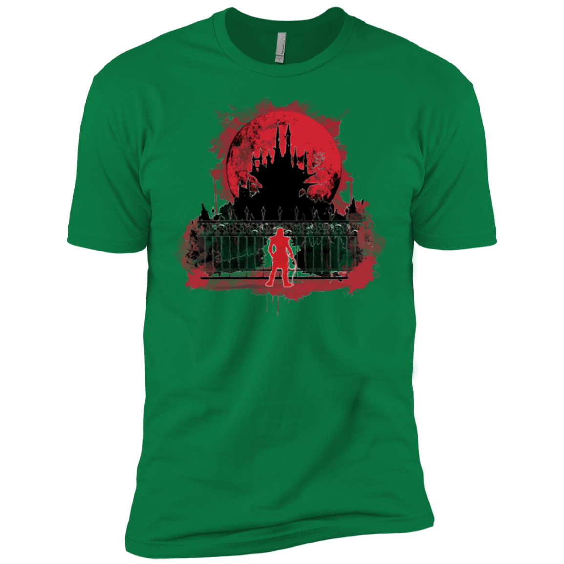 T-Shirts Kelly Green / X-Small Terrible Night to Have a Curse Men's Premium T-Shirt