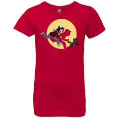 T-Shirts Red / YXS The Adventures of Dustin Girls Premium T-Shirt