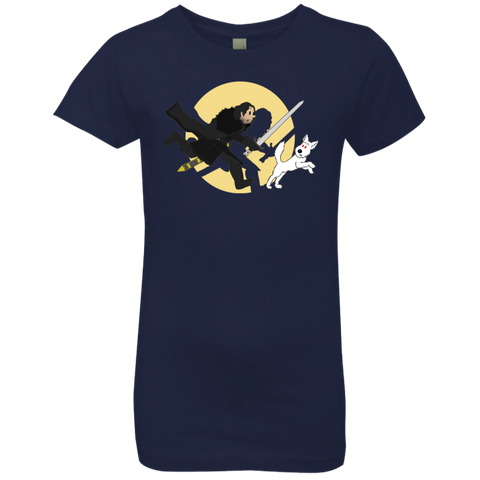 The Adventures of Jon Snow Girls Premium T-Shirt