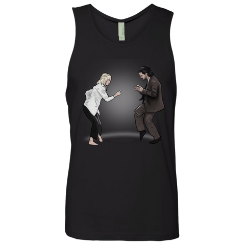 The Ballad of Jon and Dany Men's Premium Tank Top
