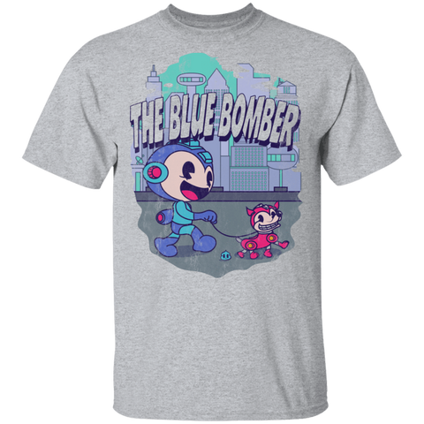 The Blue Bomber T-Shirt