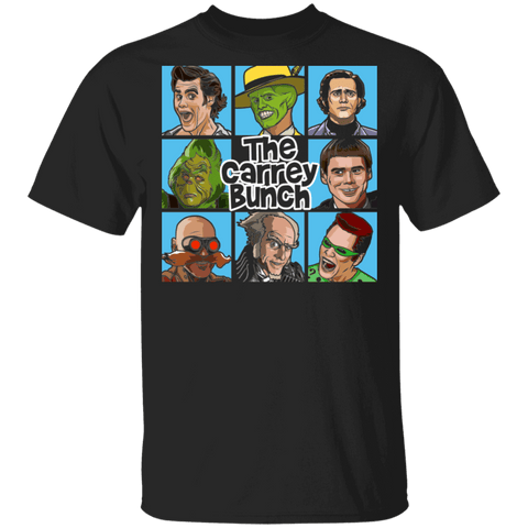 T-Shirts Black / S The Carrey Bunch T-Shirt