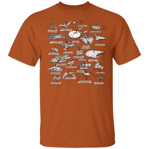 T-Shirts Texas Orange / S The Collection T-Shirt