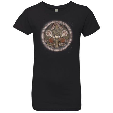 The Cthulhu Runes Girls Premium T-Shirt