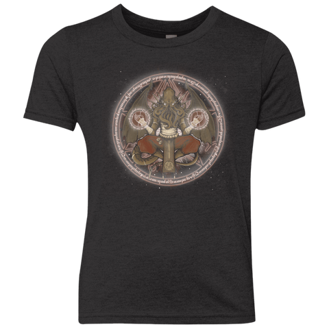 The Cthulhu Runes Youth Triblend T-Shirt