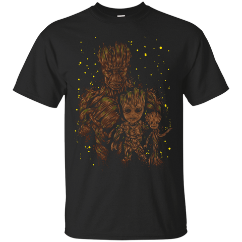 T-Shirts Black / S The evolution of Groot T-Shirt