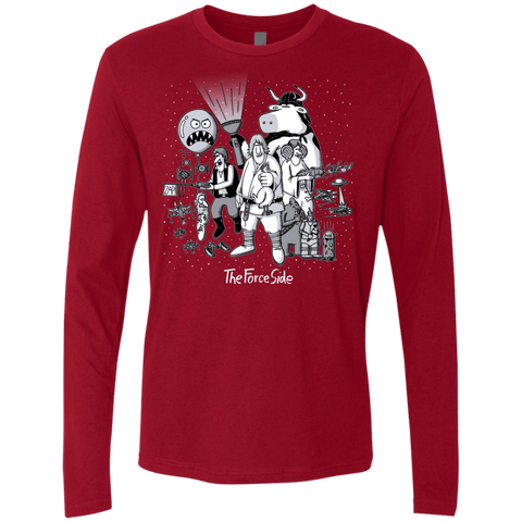 The Force Side Men's Premium Long Sleeve