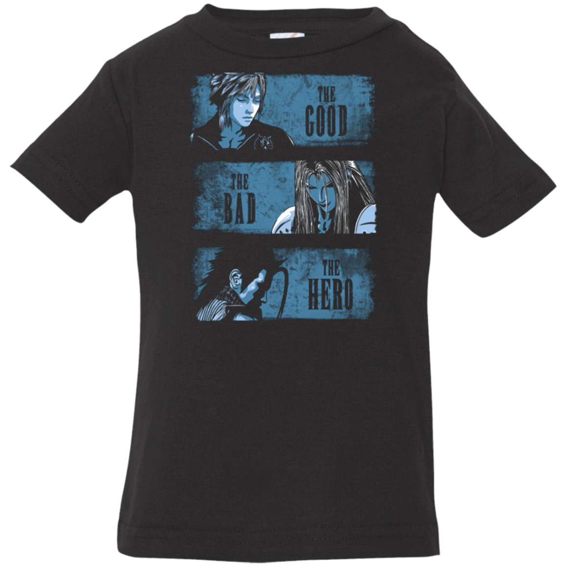 The Good the Bad and the Hero Infant Premium T-Shirt
