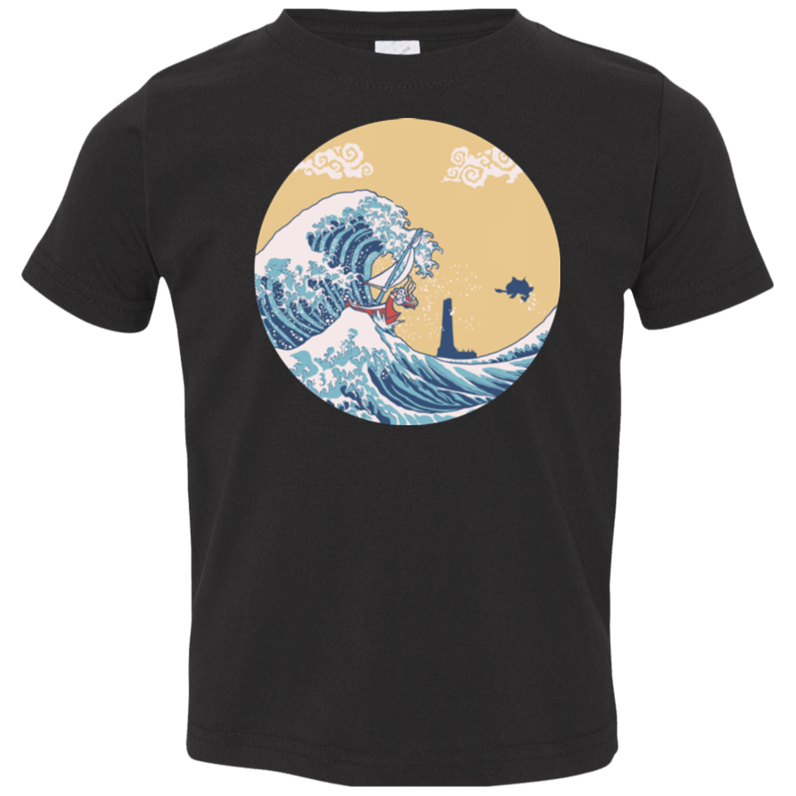 T-Shirts Black / 2T The Great Sea Toddler Premium T-Shirt