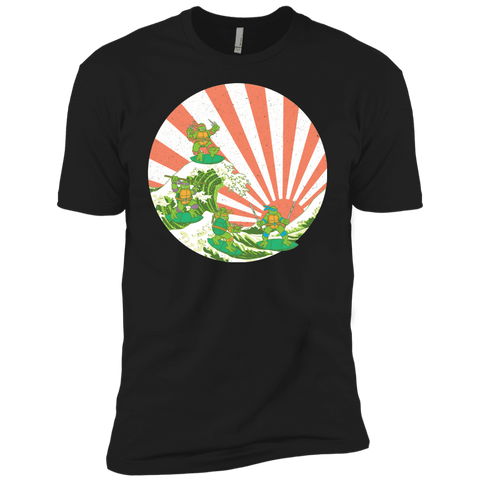 The Great Wave Off Cowabunga Boys Premium T-Shirt
