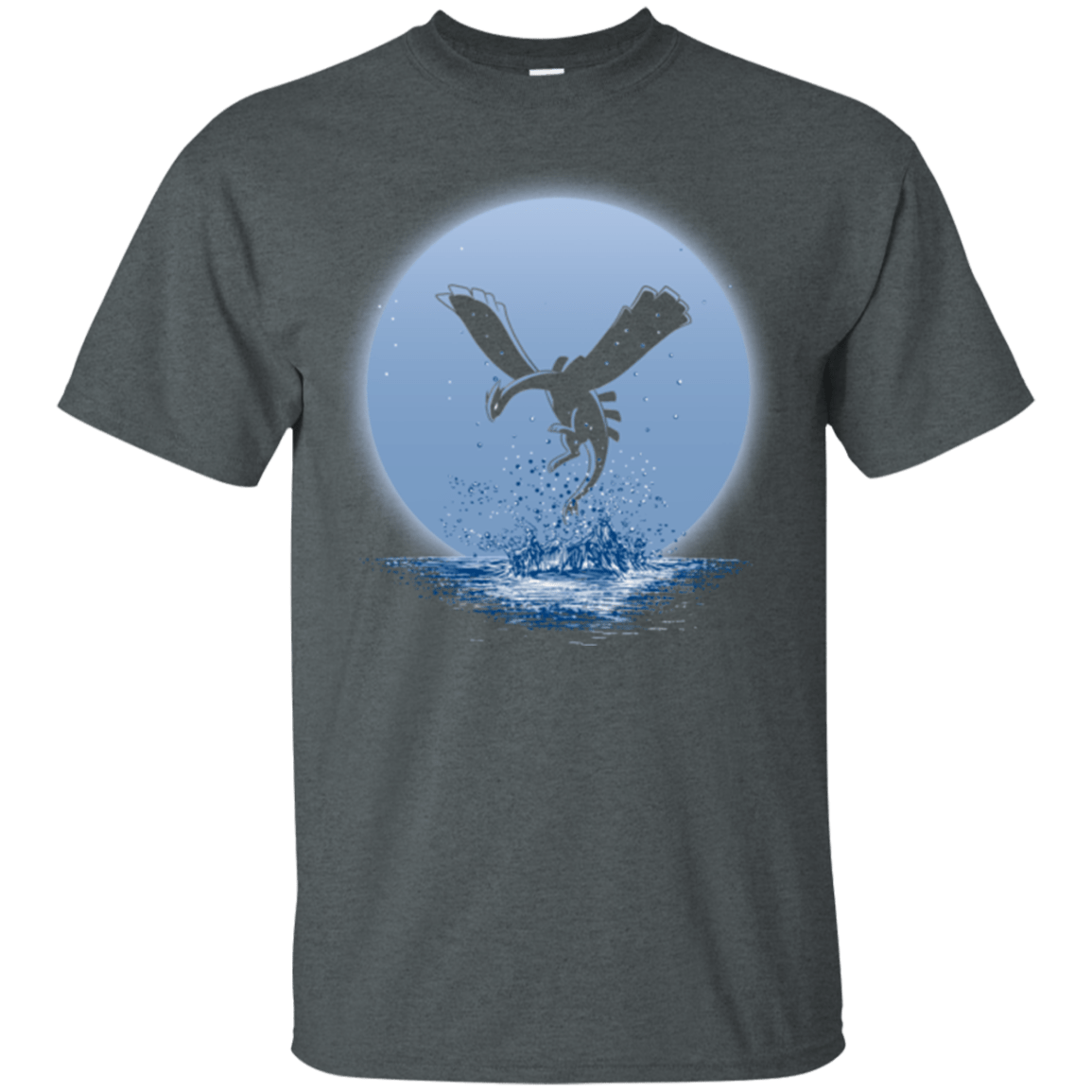 T-Shirts Dark Heather / Small The Guardian of the Sea (2) T-Shirt