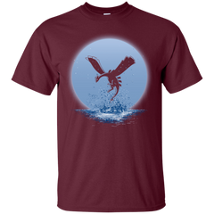 T-Shirts Maroon / Small The Guardian of the Sea (2) T-Shirt
