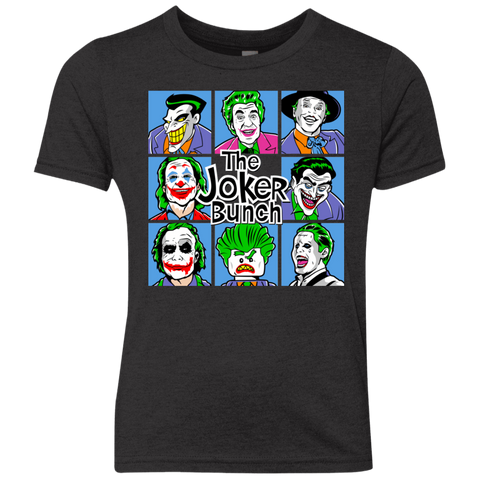 The Joker Bunch Youth Triblend T-Shirt