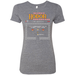 The Legend of Hodor Women's Triblend T-Shirt