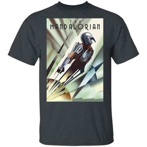 T-Shirts Dark Heather / S The Mandalorian T-Shirt
