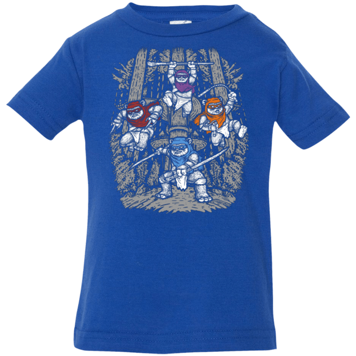T-Shirts Royal / 6 Months The Ninja Savages Infant Premium T-Shirt