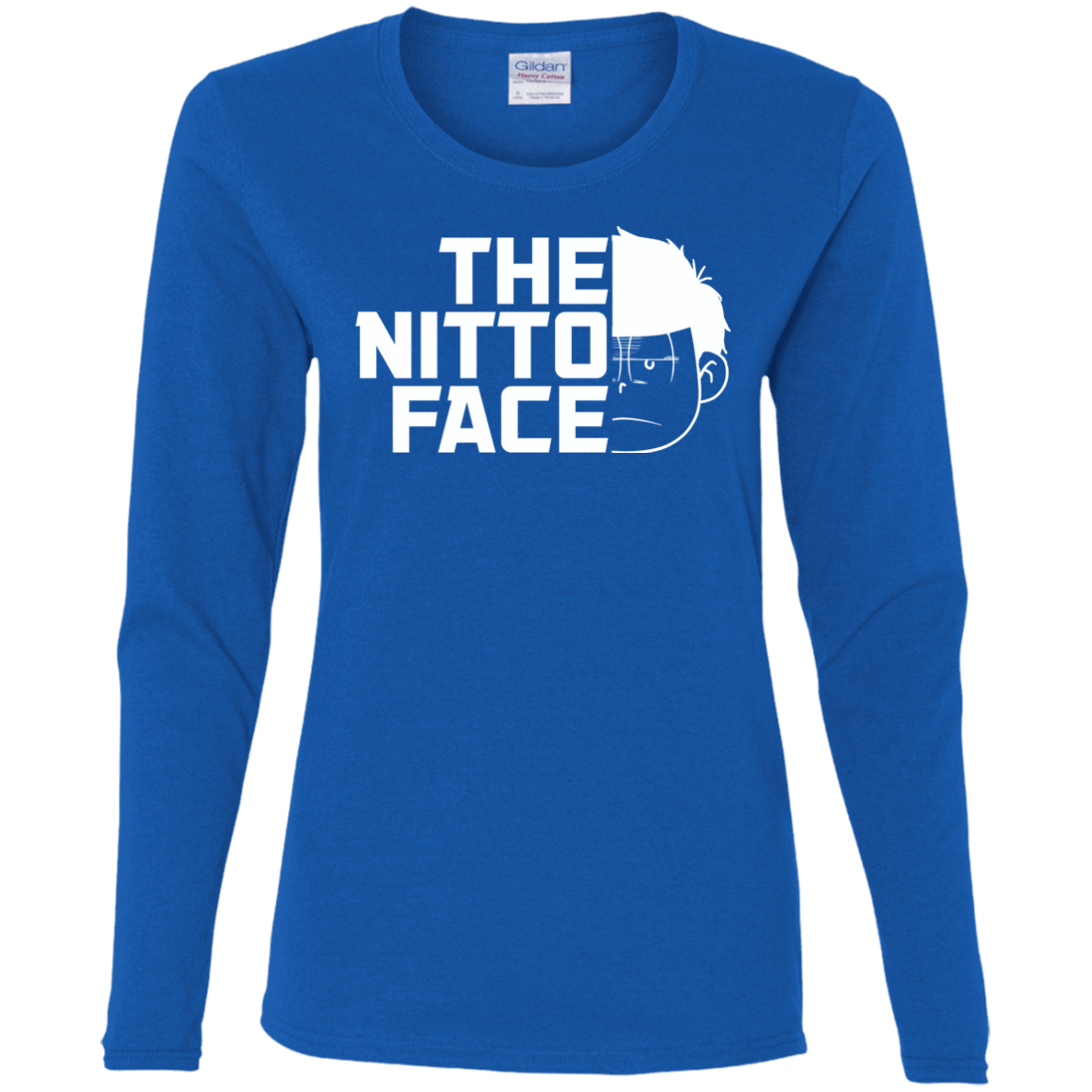 T-Shirts Royal / S The Nitto Face Women's Long Sleeve T-Shirt