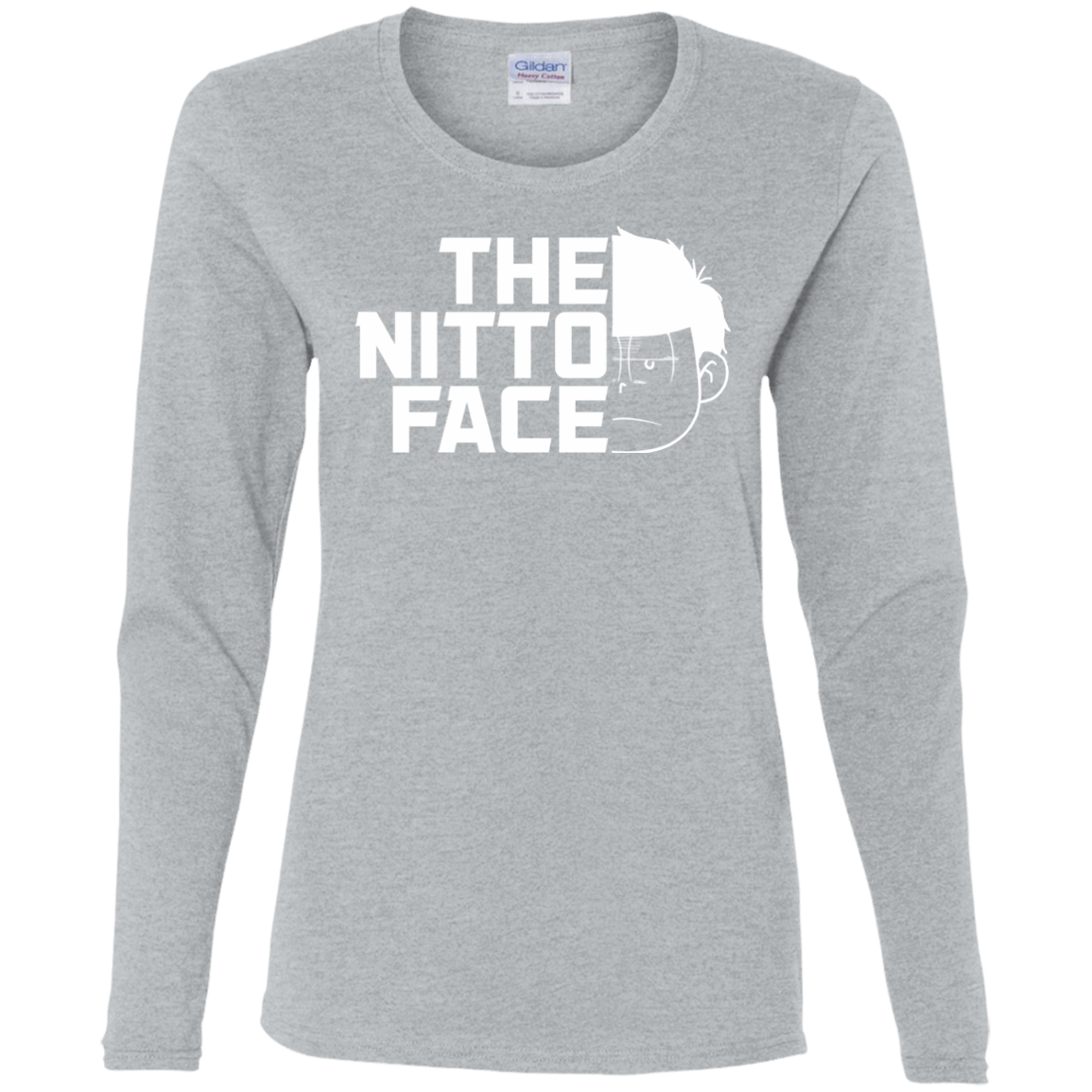 T-Shirts Sport Grey / S The Nitto Face Women's Long Sleeve T-Shirt