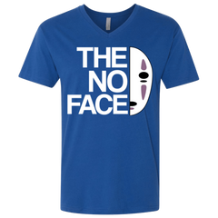 The No Face Men's Premium V-Neck