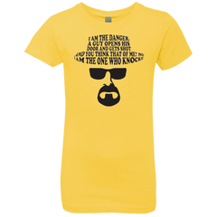 The One Who Knocks Girls Premium T-Shirt