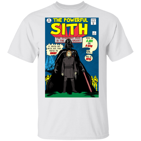 The Powerful Sith Comic T-Shirt