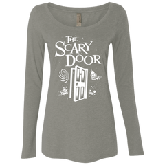 The Scary Door Women's Triblend Long Sleeve Shirt