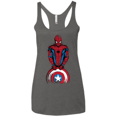 T-Shirts Premium Heather / X-Small The Spider is Coming Women's Triblend Racerback Tank