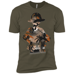 T-Shirts Military Green / X-Small The Straw Hat Crew Men's Premium T-Shirt