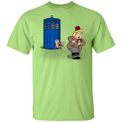 T-Shirts Mint Green / YXS The Tardis Monkey Youth T-Shirt