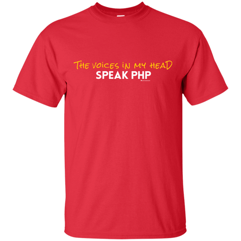 The Voices In My Head Speak PHP T-Shirt