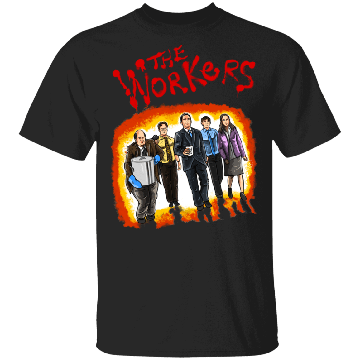 T-Shirts Black / S The Workers T-Shirt