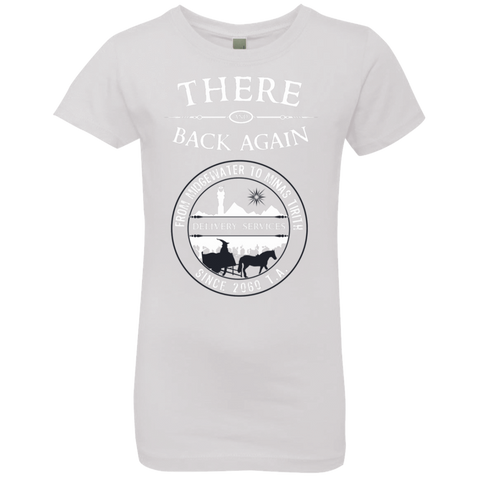 There and Back Again Girls Premium T-Shirt