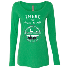There and Back Again Women's Triblend Long Sleeve Shirt
