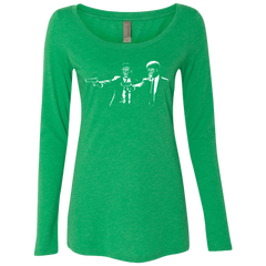 They Fiction Women's Triblend Long Sleeve Shirt