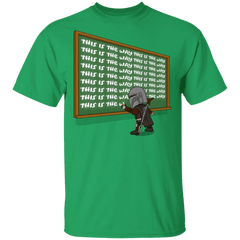 T-Shirts Irish Green / S This Is The Way T-Shirt