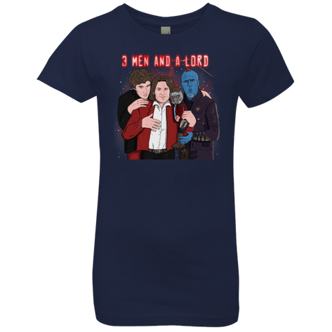 Three Men and a Lord Girls Premium T-Shirt