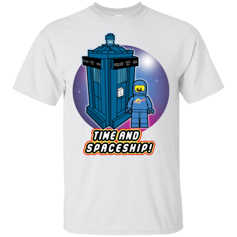 Time and Spaceship T-Shirt