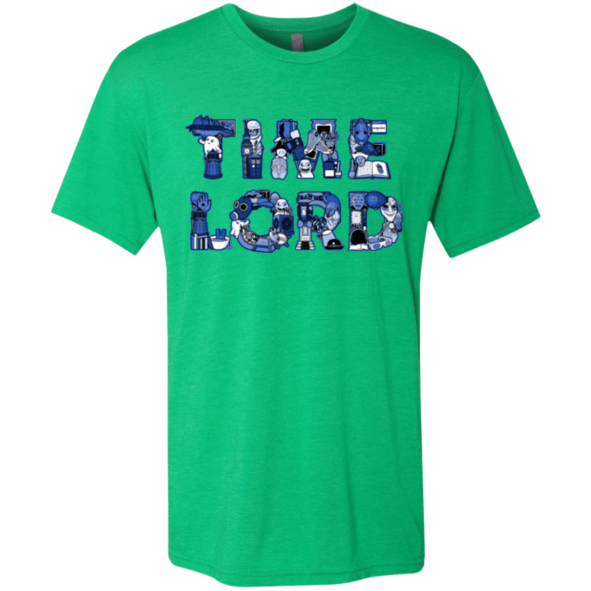 T-Shirts Envy / Small Timelord Men's Triblend T-Shirt