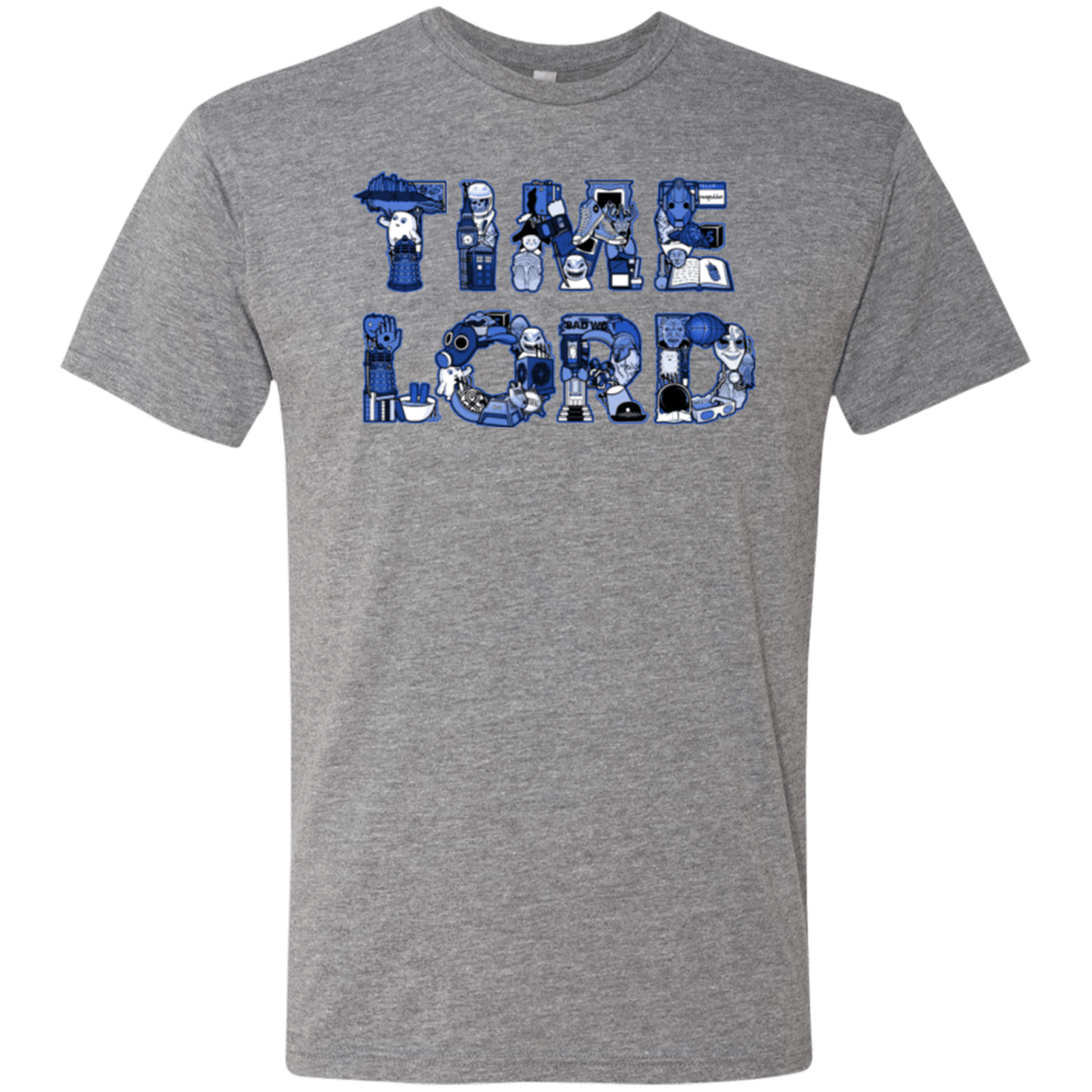 T-Shirts Premium Heather / Small Timelord Men's Triblend T-Shirt