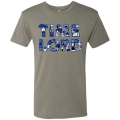 T-Shirts Venetian Grey / Small Timelord Men's Triblend T-Shirt