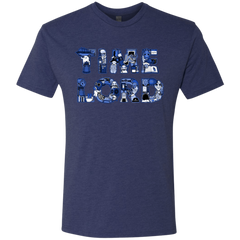 T-Shirts Vintage Navy / Small Timelord Men's Triblend T-Shirt